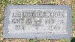 Bertha Lee <I>Long</I> Blackmon