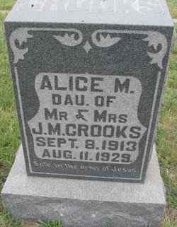 Alice M. Crooks