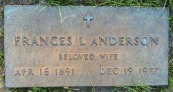 Frances L. Anderson