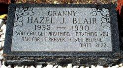 """Hazel J """"Granny"""" Blair"""
