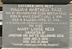 Mary Louise <I>Heck</I> Pace