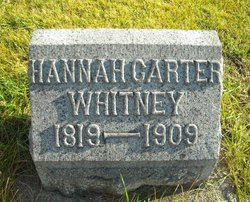"Helen ""Hannah"" <I>Badger</I> Whitney"