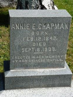Annie E Chapman