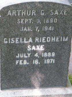 Gisella <I>Riedheim</I> Saxe