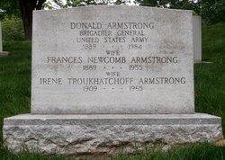 Frances <I>Newcomb</I> Armstrong