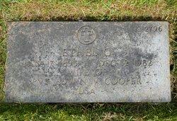 Ethel Grace <I>Shern</I> Cooper