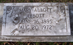 Mary <I>Abbott</I> Abbott