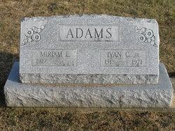 Ivan C Adams, Jr