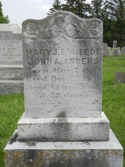 Mary J S <I>Heck</I> Anders