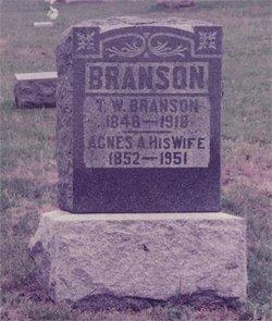 Agnes A <I>Mahon</I> Branson