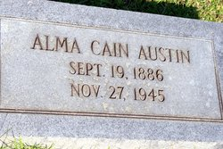 Alma <I>Cain</I> Austin