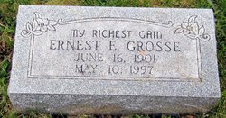 Rev Ernest E. Grosse