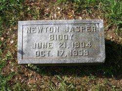 """Newton Jasper """"N.J."""" Biddy"""