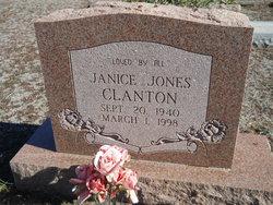 Janice L. <I>Jones</I> Clanton