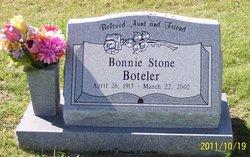 Bonnie <I>Johnson</I> Boteler