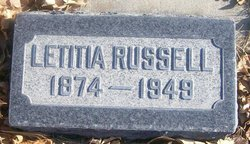 Letitia <I>Little</I> Russell