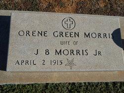 """Orene Linnie """"Orene Key"""" <I>Green</I> Morris"""