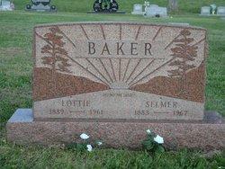 Lottie Ellen <I>Swick</I> Baker