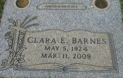 Clara E. Barnes