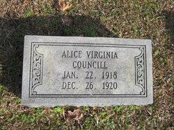 Alice Virginia Councill