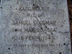 Kate Perrin <I>Hearst</I> Goodman
