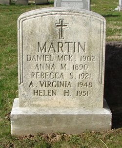A Virginia Martin