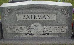 Charlotte Virginia <I>Putney</I> Bateman