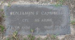 Benjamin F. Campbell