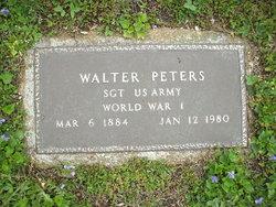 Sgt Walter Peters