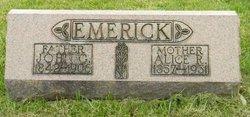 Alice Rebecca <I>Smeltzer</I> Emerick