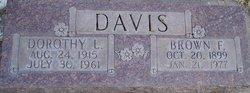 Brown Franklin Davis