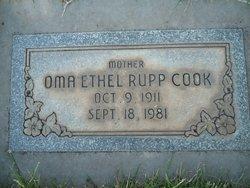 Oma Ethel <I>Rupp</I> Cook