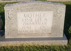Essie Lee <I>Harrigill</I> Zimmerman