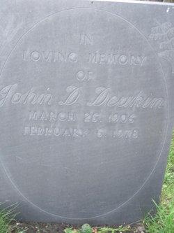 John D Deakin