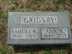 Anna M Grigsby