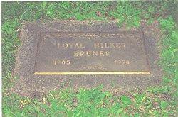Loyal Hilker Bruner