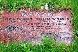 Beverly V <I>VanHorn</I> Baker