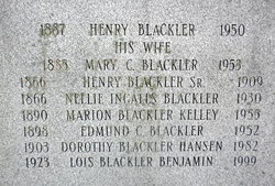 Mary Agnes <I>Cooper</I> Blackler
