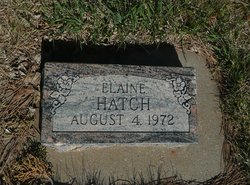 Elaine Hatch
