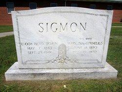Mary Ina <I>Cornelius</I> Sigmon