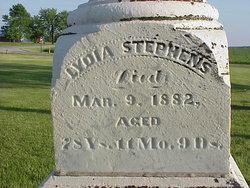 Lydia <I>Waggoner</I> Stephens