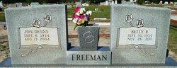 Betty <I>Rodgers</I> Freeman