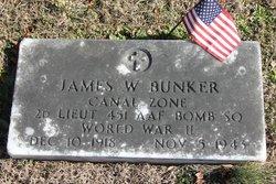 2LT James William Bunker