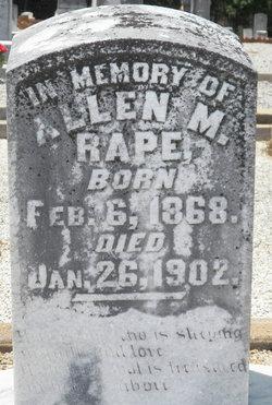 Allen M Rape