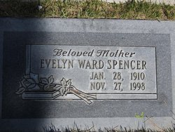 Evelyn Willie <I>Ward</I> Spencer