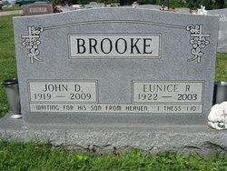 Dr John D Brooke