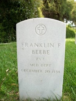 Pvt Franklin F Beebe
