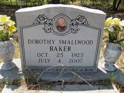 Dorothy C <I>Smallwood</I> Baker