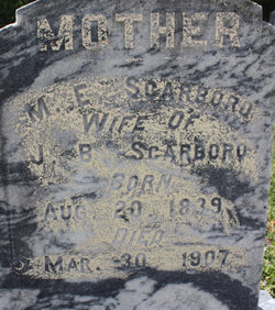 Mary Elizabeth <I>Duncan</I> Scarboro