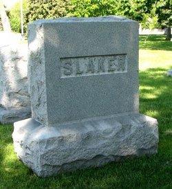 Anna <I>Sedgwick</I> Slaker
